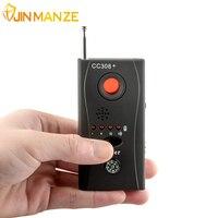 CC308 Wireless FNR Full Frequency Detector GSM Device Finder Hidden Camera Laser Lens Anti Spy Bug