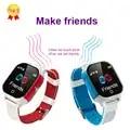 China Fábrica WIFI Apoio Relógio Inteligente Fazer Amigos das Crianças GP + WIFI + LBS + Beidou Chat de Voz Discagem call & Resposta Chamada de Alarme Relógio