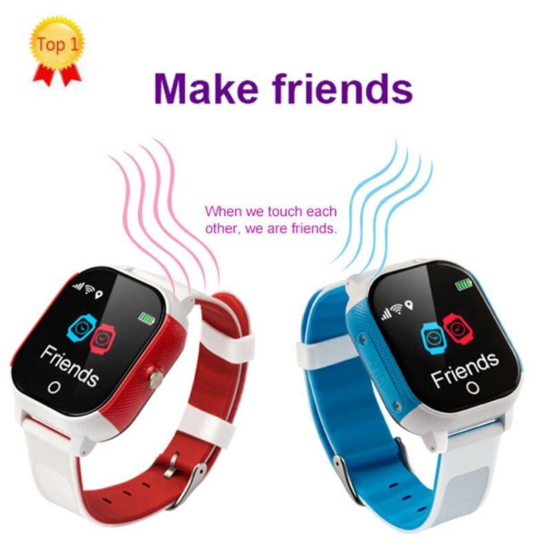 Chine usine enfants WIFI montre intelligente soutien faire des amis GP + WIFI + LBS + Beidou voix Chat cadran appel et réponse appel réveil