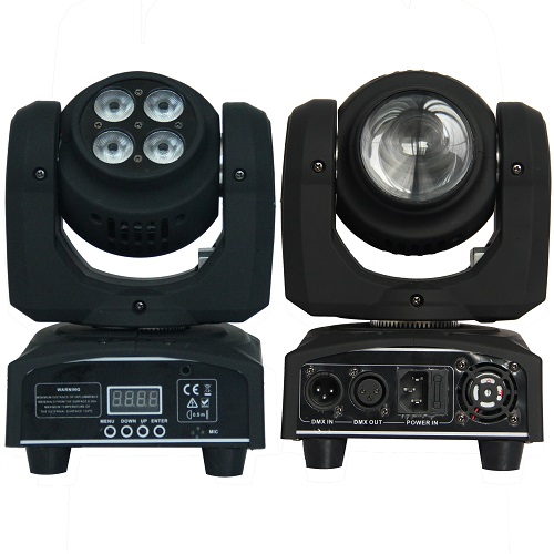 High Quality Two side 4x10W wash + 1x10W beam CREE LED moving head light stage DJ Disco Party Bar Professional Lighting