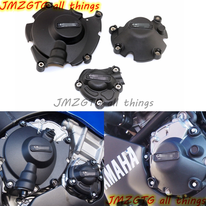 Motorcycles Engine cover Protection case for case GB Racing For R1&R1M 2015 2016 2017 2018 Engine Covers Protectors купить в Москве 2019