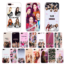 Fashion band Blackpink Soft silicone phone case for iphone x xs xr xsmax 7 8 6s 6 plus 5 5s se TPU fitted mobile cover shell