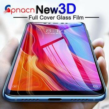 Full Cover Tempered Glass on the For Xiaomi Mi 8 Lite SE Mi 6X 6 5 5X 5C 5S Plus Mi A2 A1 Note 3 Screen Protective Glass Film Phone Screen Protectors