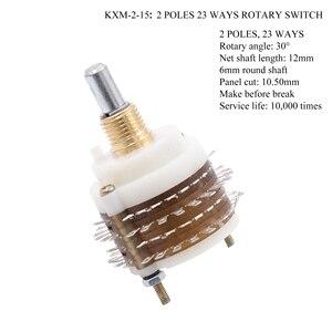 Image 2 - Döner anahtar DIY zayıflatıcı potansiyometre ses seçici Hifi Vintage tüp AMP DIY 1 adet