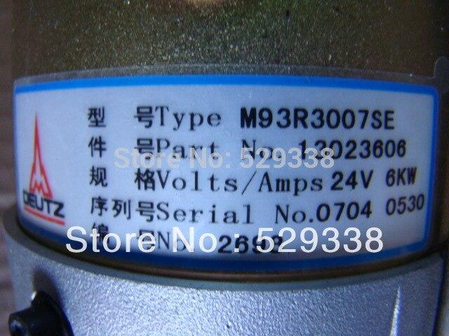 M93R3007SE стартер 24 В 6KW 13023606 для Weichai WP6 газовый двигатель для deutz TD226B