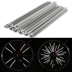Hot 12pcs bicycle wheel rim spoke bike mount tube warning light strip reflector car.jpg 250x250