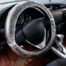 100pcs Universally Car Disposable Plastic Steering Wheel Cover Waterproof  For BMW Honda