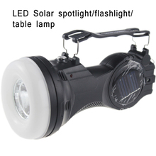 LED Solar Energy Charging Flip Top Lantern Outdoor Camping Lighting Flashlight Searchlight Home Office Reading Table Lamps