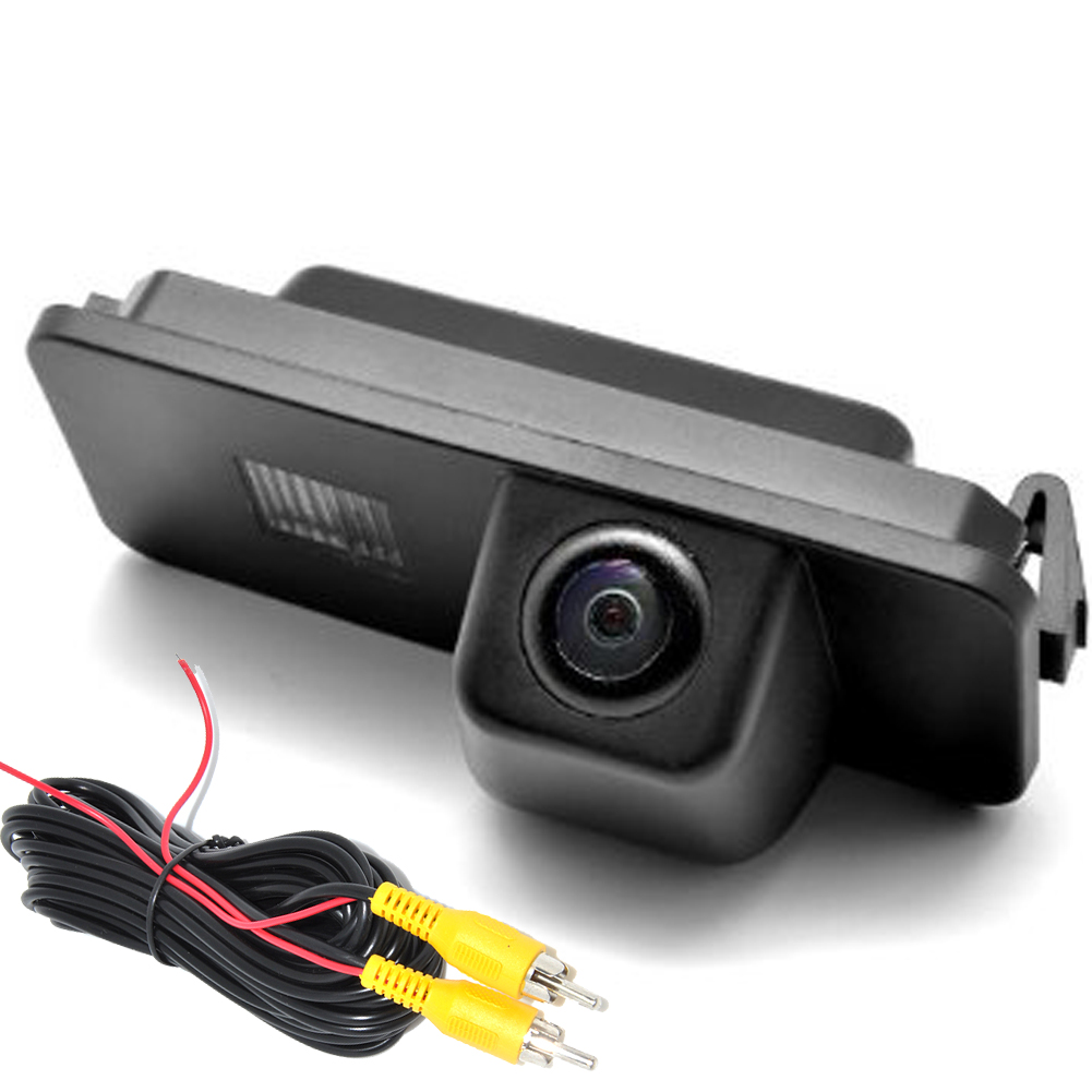 Car Rear View Reverse Backup CAMERA For VW GOLF V GOLF 5 SCIROCCO EOS LUPO PASSAT CC POLO(2 cage) PHAETON BEETLE SEAT VARIANT 10