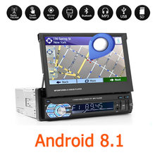 "Android 8.1 Voiture Mp5 Player 7 ""1Din Multimidia Carro 1080P Voiture Lecteur Vidéo 1 Din Auto Radio Wifi Bluetooth Universel 48(China)"