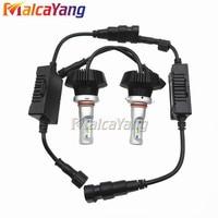 2pcs H7 H1 H3 H11 9005 9006 H4 Headlights Kit P HiIip S Chip LUMILEDS LUXEON
