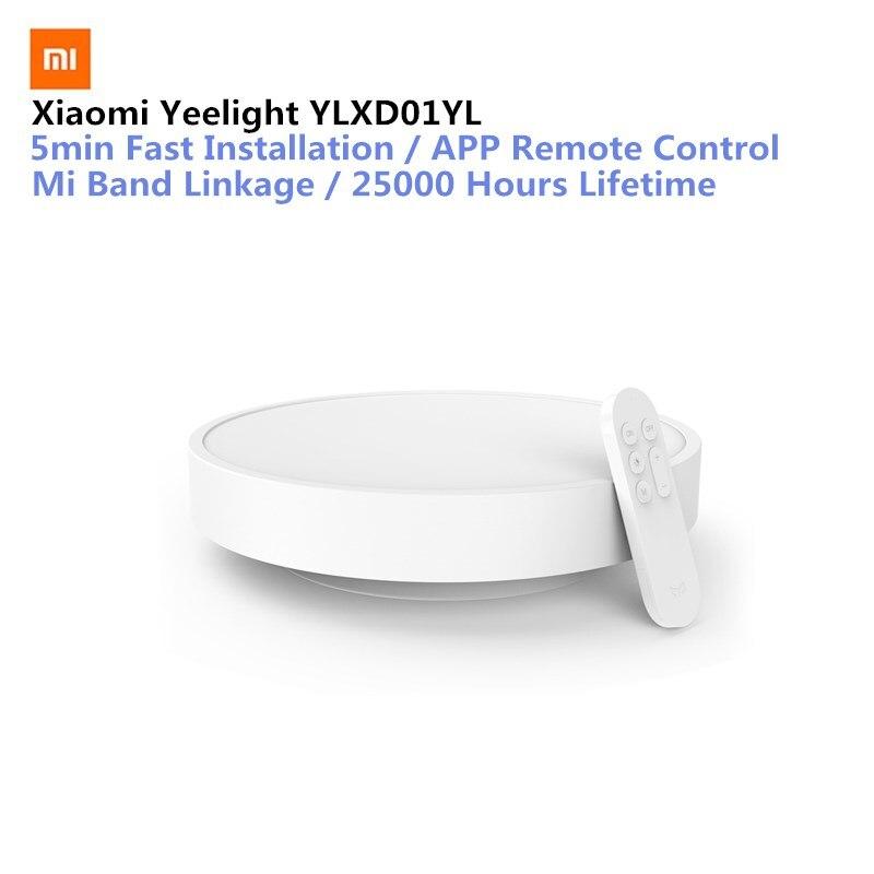 Оригинальный Xiaomi Yeelight Smart APP Дистанционное светодио дный светодиодный потолочный светильник кровать комната огни сотовый телефон Mijia или
