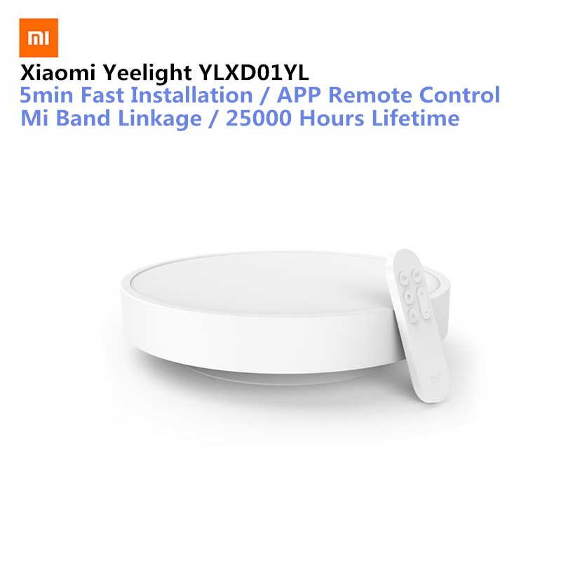 Original Xiaomi Yeelight Smart APP télécommande LED plafonnier chambre lit lumières téléphone portable Mijia ou Bluetooth contrôle