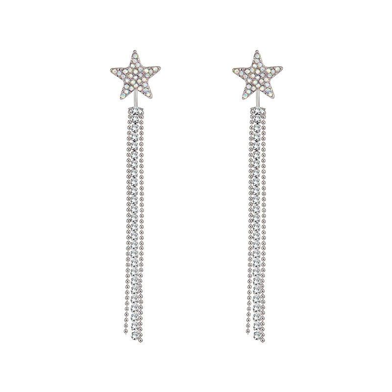 MISANANRYNE 2018 New Arrival Earring for Women High Quality Little Star Dangle Earring for Women Girls Gifts