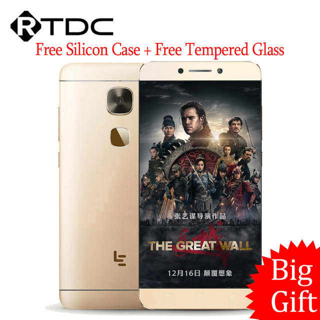 "Original Letv LeEco Le Max 2 X829 4G LTE Mobile Phone Quad Core Snapdragon 820 5.7"" 2K 2560x1440 4GB RAM 64GB ROM 21MP Touch ID"