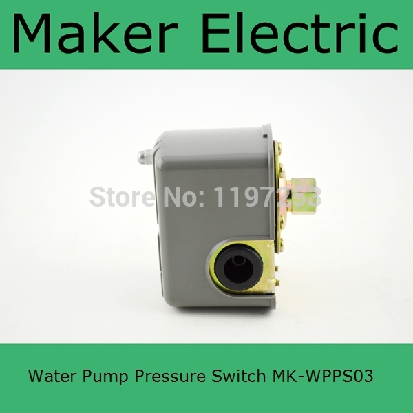 China Factory MK-WPPS03 Brand New 1Pcs Automatic Electric Electronic Switch Control Water Pump Pressure Controller Free Shipping hot sale cheap price mk wpps10 adjusting water pump pressure switch from china factory