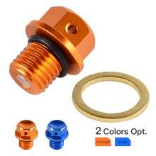Magnetic Oil Drain Plug Bolt Fits KTM 125-530 SX/SX-F/EXC/EXC-F/EXC-R/XC XC-W/F