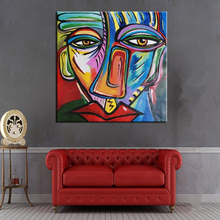 Handmade Famous Painting Seated Women beside the window By Pablo Picasso Modern Abstract Portrait Wall Pictures For Home Decor