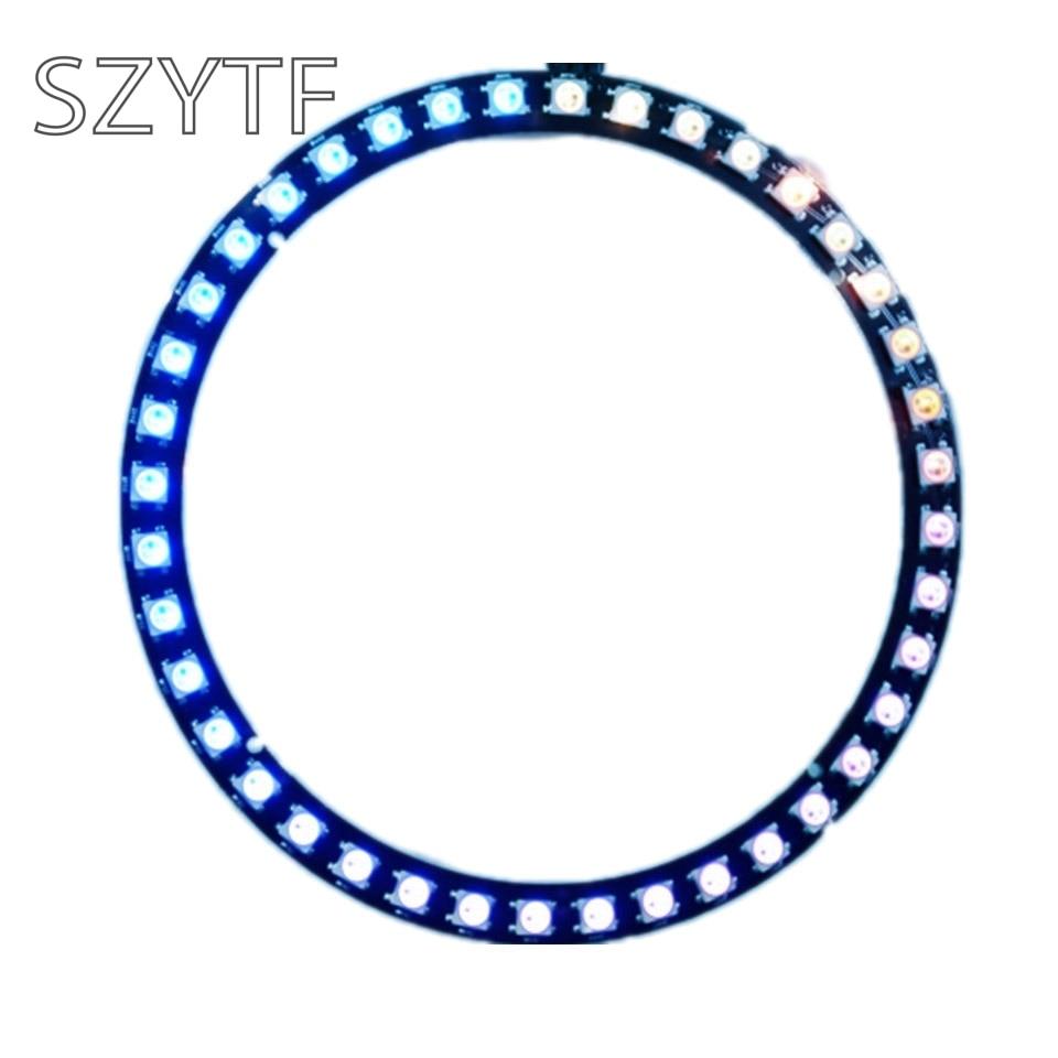 40bit WS2812B 5050 RGB LED Lights Built-in Full-color Circular Drive Development Board