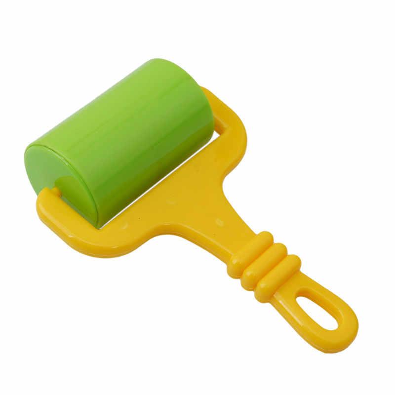 สีเล่นแป้งเครื่องมือสร้างสรรค์ 3D Plasticine ชุดเครื่องมือ Polymer Clay Playdough ชุดดินแม่พิมพ์ Deluxe ชุดการศึกษาของเล่น