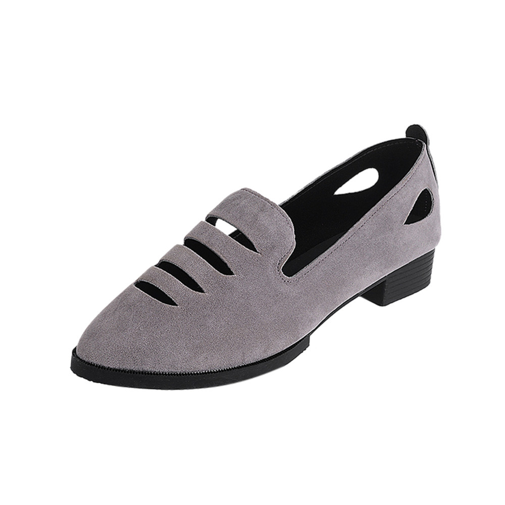 New Style Fashion Women Flat Heel Shoes Pointed Toe Oxford Shoes Woman PU Women Hollow Solid Color ShoesNew Style Fashion Women Flat Heel Shoes Pointed Toe Oxford Shoes Woman PU Women Hollow Solid Color Shoes