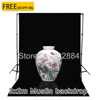 Photographic Equipment Diamond Cloth Background Backdrop New 3 3m Black