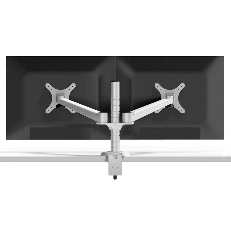 Support de moniteur LCD double réglable en hauteur de OA-4 360 support de montage VESA support de Table Installation de serrage Max 23 pouces support TV