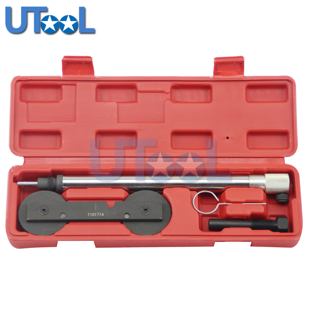 UTOOL T10171A Car Tool Kit Of Engine Timing Tool Set for VAG 1.2, 1.4TFSi, 1.4, 1.6FSi - Chain Drive стоимость