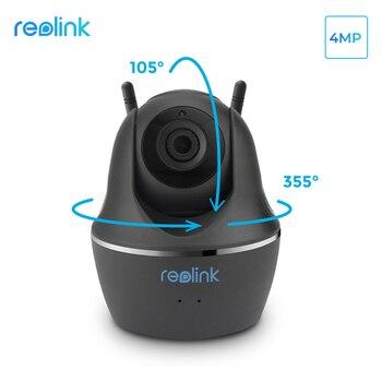 Cámara Reolink de 4MP WiFi Pan Tilt, cámara de vigilancia de vídeo para interiores HD inalámbrica IP Cam para mascotas, bebé, cuidado inteligente niñera