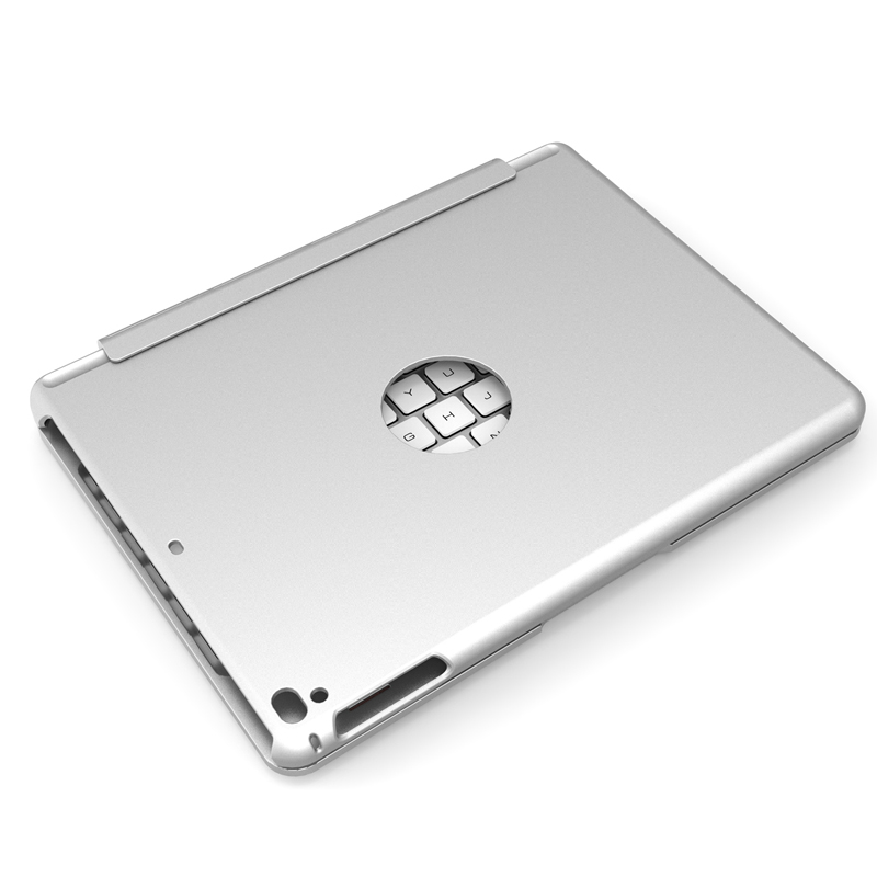 Silver color for iPad keyboard with case 97