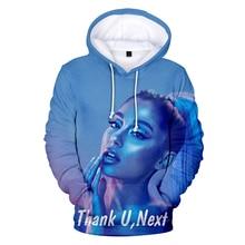 New Hot Ariana Grande 3D print Hoodies women/mens Fashion Streetwear Girls Sweatshirts Hip Hop Clothes