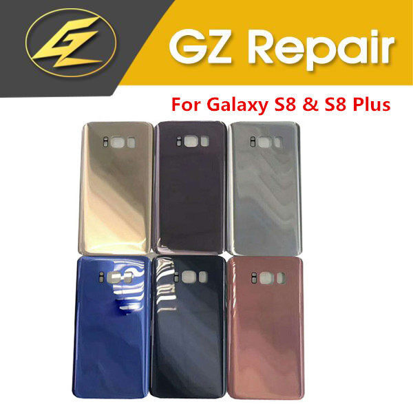 All New For Samsung Galaxy S8 S8Plus S8 Plus Battery Cover Housing Cases Back Door Rear Black Gold Silver Blue Pink Grey Color
