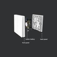 New Arrivel Xiaomi Aqara Smart Light Control ZiGBee Wireless Key and Wall Switch Via Smarphone Mi Home APP Remote