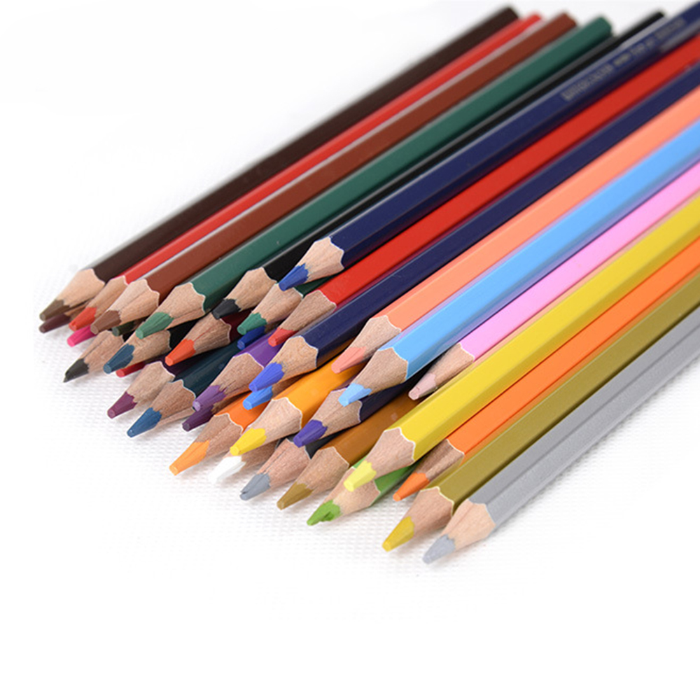 Art colored pencils - Fine Art Colored Pencils Water Soluble 72 Colors Drawing Sketches Colour Pencil School Supplies Secret Garde Pencil Iron Box In Pencils From Office School