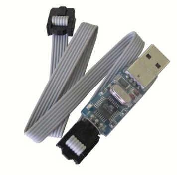 Kk MultiCopter Control Papan Firmware Loader USB USBASP ASP/Grammer QUAD-Copter