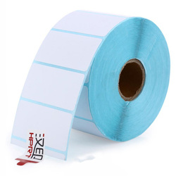 Etiket kağıdı HPRT etiket termal baskı kağıdı 50*25*1450 Su Geçirmez barkod baskı kağıdı yapışkan etiket baskı kağıdı