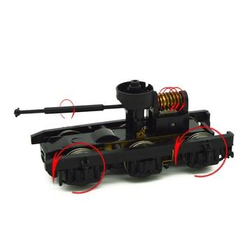 цена на 1pc HO 1:87 Scale Model Train Model Parts Miniature Accessories Bogie  Building Kits for model train making