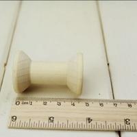 40pcs/lot Zakka Wooden Bobine Classic style size 4.8x3.1cm DIY tool Wooden Spool 001002004
