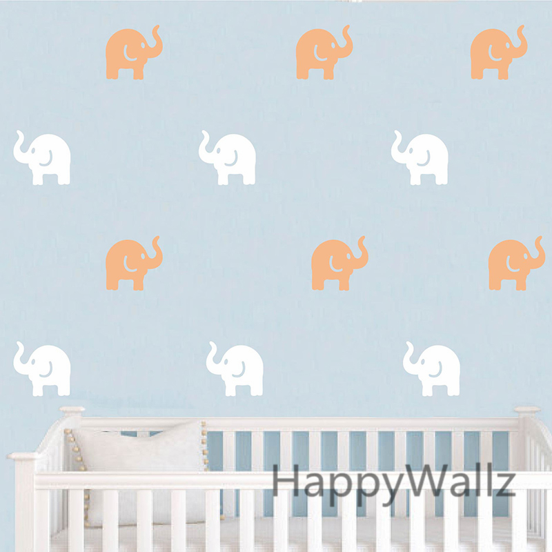 Aliexpress.com : Buy Cute Elephant Wall Sticker Baby Nursery Elephant Wall  Decal Kids Room DIY Children Wall Decors Easy Wall Sticker P27 From  Reliable Wall ... Part 31