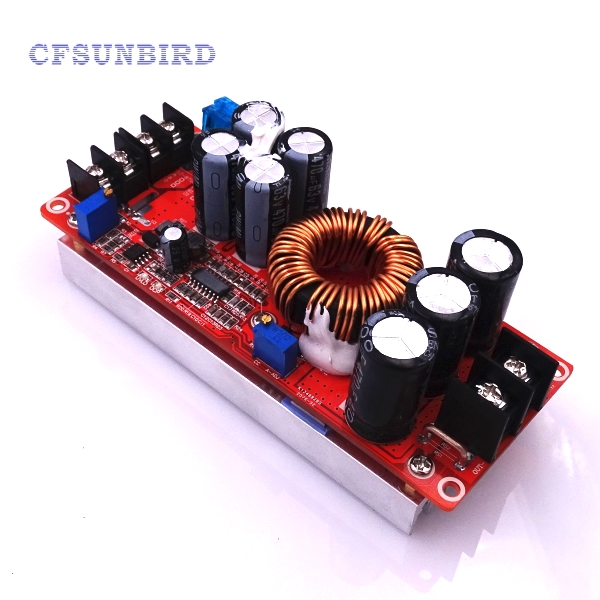 1200W 20A DC Converter Boost Step-up Power Supply Module IN 8-60V OUT 12-83V dc 12v 9 v 18 v step up to dc 19v 20a 380w boost power converter regulator module