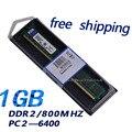 Низкая цена модуля памяти DDR2 RAM 1 ГБ 800 мГц для ПК все материнская плата бесплатная доставка