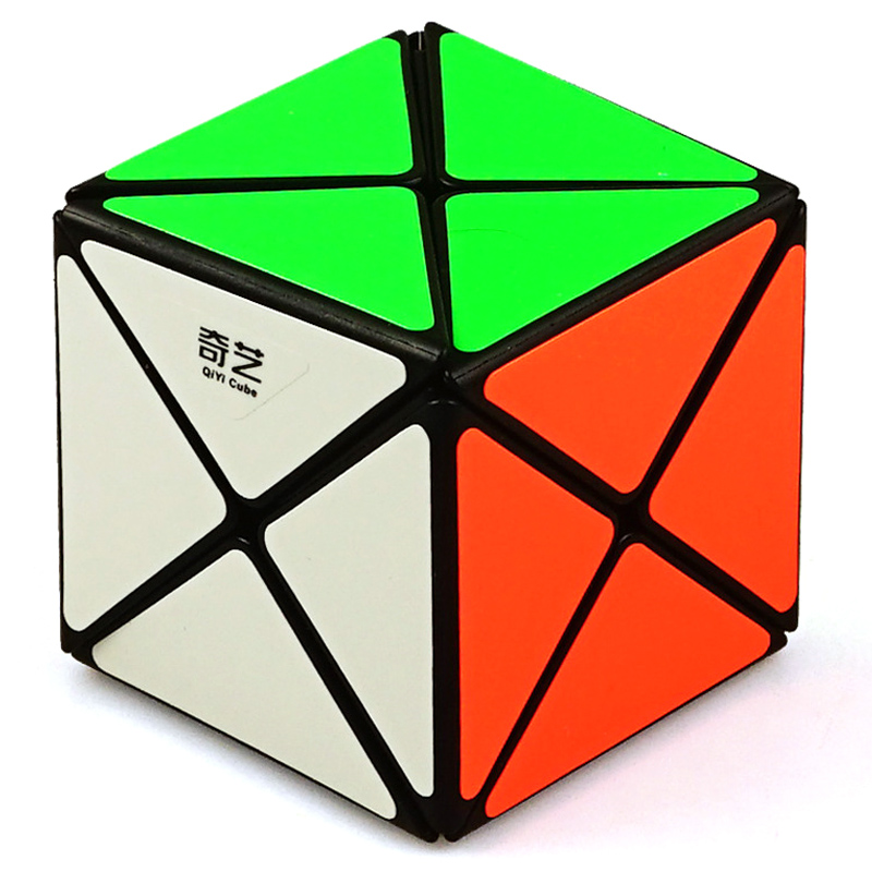 QIYI New X Cube 5.8CM Best Puzzle Cube Stickerless Magico X Speed Rubix Toy Colorful For Educational Neo Cubo Pyraminx For Kids