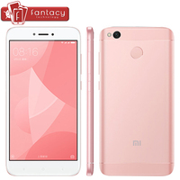 Original Xiaomi Redmi 4X 4 X 2GB 16GB Mobile Phone 4100mAh Snapdragon 435 Octa Core Fingerprint
