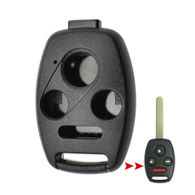 цена на New Black 3 Buttons Key Shell Replacement Entry Key Remote Fob Shell Case Housing Fits for Honda Accord Civic CR-V