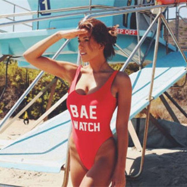 Sexy Women One Piece Bikini Beach Backless
