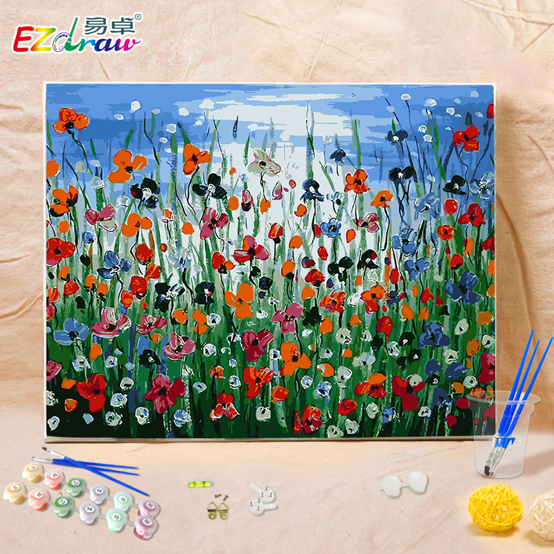 diy canvas painting aliexpress buy 2016 new colorful diy digital 13193