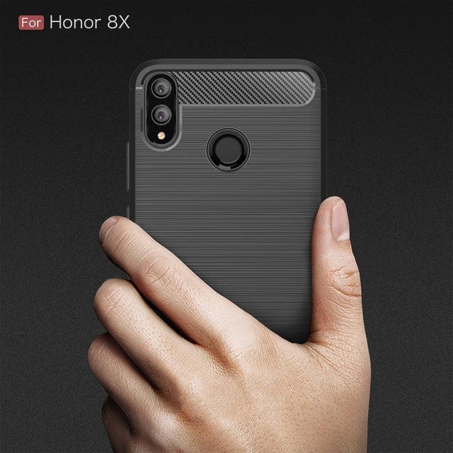 UTOPER Case For Huawei Honor 8X Case Carbon Fiber Cover For Honor8...