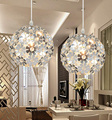 Premium Quality Beautiful Silver Crystal Chandelier Light Fixture Aluminum Hanging Lamp Lights for Dining Bedroom Free Shipping