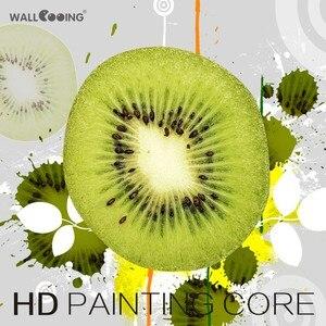 Картина на холсте, 3 панели, для ресторана, фруктов, апельсинового винограда, зеленого яблока, современные модульные фотографии для декора к...