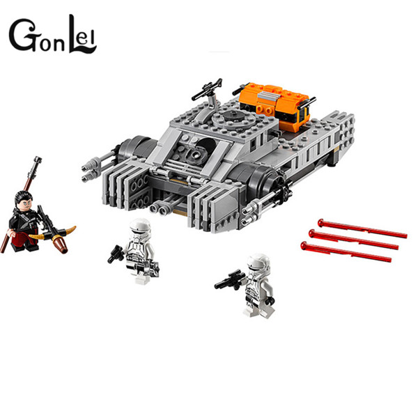GonLeI Buidling Blocks 35012 Rogue One:A  Story Imperial Assault Hovertank 75152  Lepin Bricks Toy For Children 35012 clone wars rogue one star space hovertank building bricks blocks sets kids toys compatible lepine 75152 starwars 2017